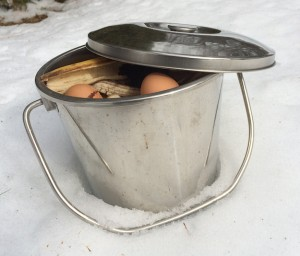 Catherine Volic | Composting in Winter | Compost Bucket