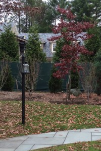 Lamppost | Landscape Lighting | Sweetgum Horticulture