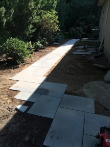 Bluestone Walkway Construction