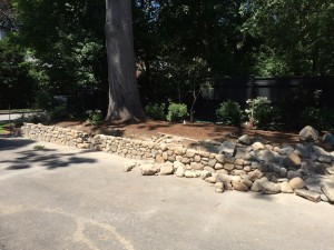 Fieldstone Wall Construction | Landscape Design | Sweetgum Horticulture